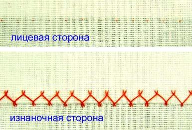 шов козлик фигурный