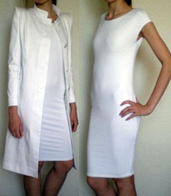 как из резинок сделать платье для барби