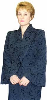 Жакет Стойка и борта отделаны втачным кантом со шляпной резинкой. Работа Наталии Чекрыгиной по модели Мак-Куина для Дома Живанши.