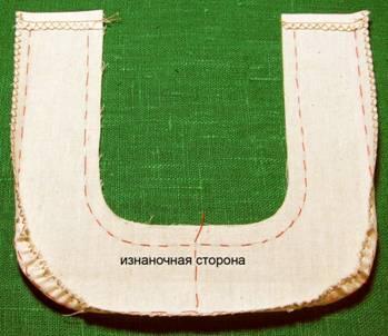 пошив накладного кармана гармошка