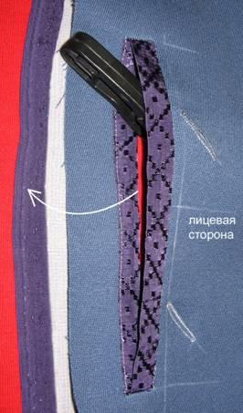 как сделать потайную застежку на пальто