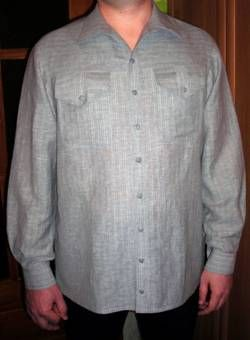 Drawing basic patterns men's shirts