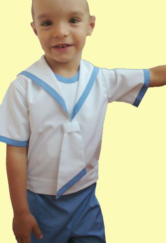 Sailor suit for boy