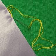 как выполнить нитяную петлю