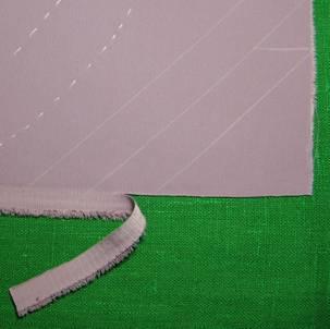 как выполнить рулик из ткани