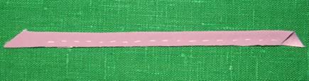 как заготовить рулик из ткани