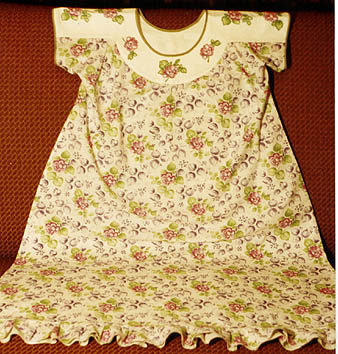 Nightgown for girls how to cut and sew children's clothing author school