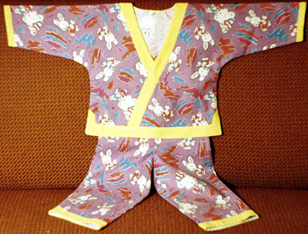 Pajamas for baby how to cut and sew
