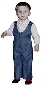 Jumpsuits for the boy to learn to cut and sew school author Ludmila Serova