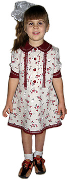 Dress with set-in sleeves for girls how to learn to cut and sew through the online courses dressmaking sewing