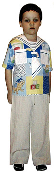 sailor suit and pants for boy's online training courses fit sewing author's school of cutting and sewing Ludmila Serova